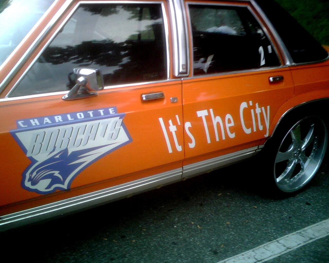 Bobcats Crown Vic