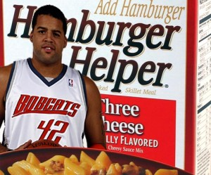 Sean May, The Hamburger Helper