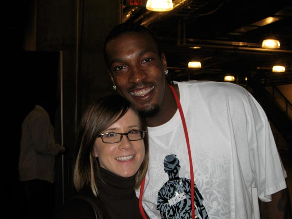 Gerald Wallace and my Wife