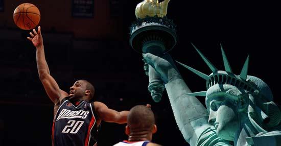 Charlotte Bobcats Defeat New York Knicks